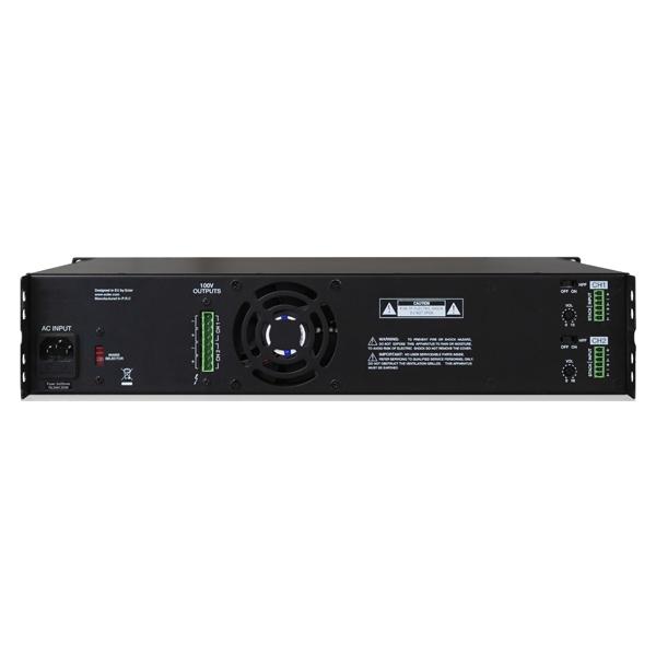 امپلی فایر ولتی / سیستم صوتی فروشگاه / کافی شاپ / رستوران / مدارس / استخر / مرکز خرید / شرکت سیما صوت Hsa2-500 ecler Audio